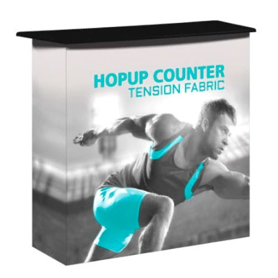 Hopup Counter with Shelf