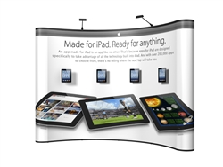 iPad Mount for Pop Up Display