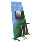 Formulate Tension Fabric Monitor Kiosk 2