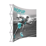 10ft Hopup Extra Tall Curved Tension Fabric Popup
