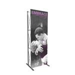 2ft Embrace SEG Fabric Pop Up Tower