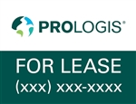 Prologis Leasing Window Signage