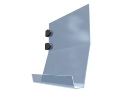 Slanted 8x11 Literature Holder