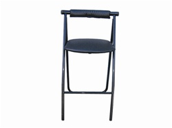 Curved Back Truss Bar Stool