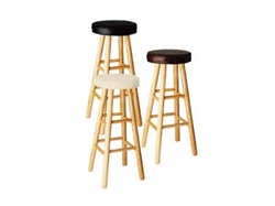 "24""H Soft Top Stool"