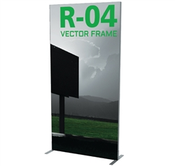 "47""W x 94""H - Vector Frame Banner Stand - 04"