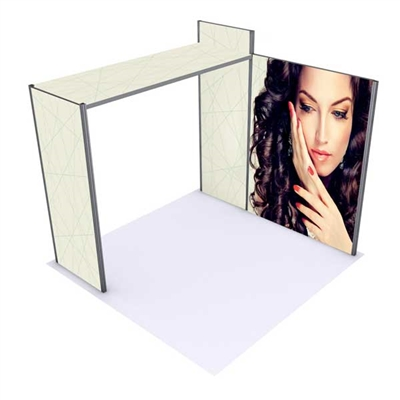 10ft Alpine Fabric Display Booth Kit A