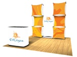 8ft Xpress Fabric Pop Up Kit C