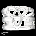 Sterling Silver Celtic Knot Toe Ring (#BQ64)