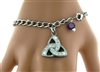 """Evening in Ireland,"" Trinity Charm Bracelet (CB1)"