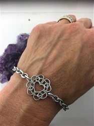 Forgiveness Celtic Love Knot Bracelet/Anklet (HM116) Jewelry with meaning in Celtic knotwork.