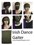 Irish Dance Neck Gaiters, Buff, scarf, headband , Mask , Irish masks, Irish Dance Face Coverings