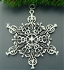 Pewter Medical SnowWonders® Snowflake Ornament/Pendant (#JPEW5200)