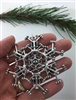 Pewter Legal SnowWonders® Snowflake Ornament/Pendant (#JPEW5274)
