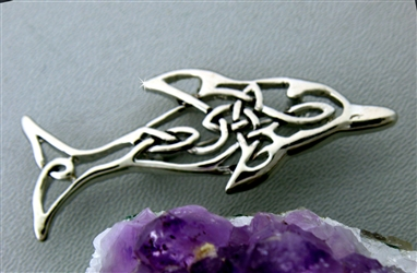 Celtic Dolphin Pin (#JPEW5454)