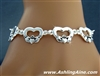 Irish Claddagh Celebration Toggle Bracelet (#JPEW5866)