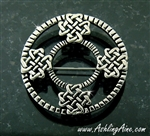 Pewter Celtic Love Knot Pin/Pendant (#JPEW5874)