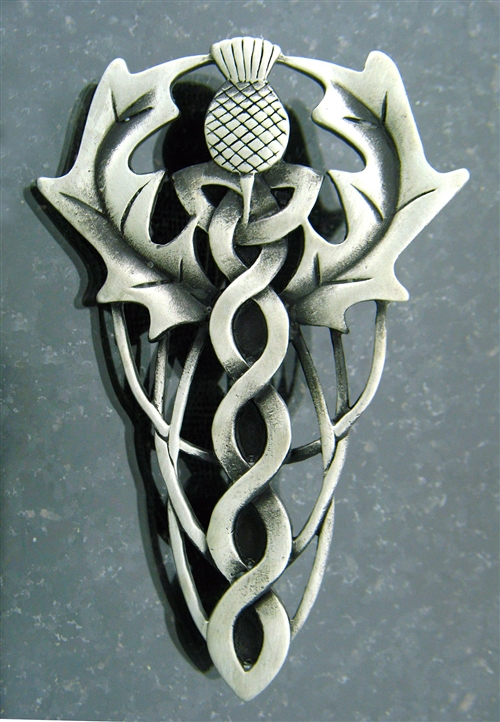 #JPEW5874 Pewter Celtic Love Knot PinPendant