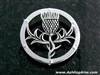 Beautiful Scottish Thistle brooch (#JPEW5996)