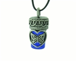 Pewter Butterfly Love Bottle (#JPEW6020)