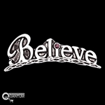 Pewter Believe Pin (#JPEW6051)