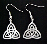 Trinity Knot Earrings (#JPEW6058)