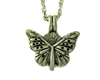 Pewter Butterfly and Flower Essential Oil/Perfume Diffuser(JPEW8020)