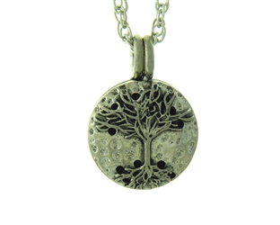 Family Tree/Tree of Life Diffuser Pendant, Family Roots Essential Oil/Perfume Aromatherapy Diffuser Necklace(JPEW8021)