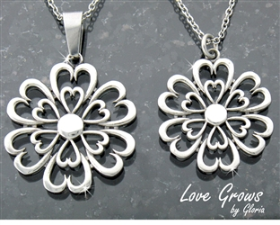 """Love Grows"" Necklace (LG necklace)"