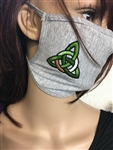 Celtic Masks, Irish masks, Scottish masks, Welsh Masks, Face Coverings, triskelion , Trinity, Irish Golf, Luckenbooth
