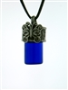 Pewter Simply Elegant Butterfly Aromatherapy, Prayer, Keepsake Bottle Necklace
