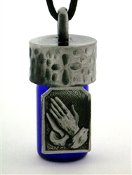 Praying Hands Anointing/Aromatherapy/Memorial Bottle(Jpew730)