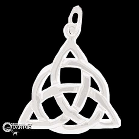 Sterling silver celtic trinity knot pendant sterling silver celtic trinity knot pendant qa1 aloadofball Choice Image