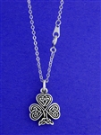 Celtic Knot Shamrock Necklaces (RPEW7)