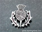 Scottish Thistle pin/pendant  (Rpew39)