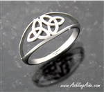 Double Trinity Knot Ring ( S149)