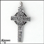 316 L Stainless Steel Castledermot South Cross Pendant (#S15)
