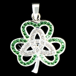 316 L Stainless Steel  Shamrock/Trinity (#S18)
