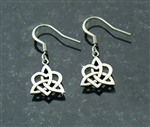Celtic Sister/Family Knot French wire earrings(S202)