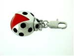 Lady Bug Zipper Pull