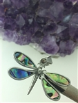 Abalone Dragonfly Pendant ( S272) Dragonfly, Highland Dragonfly