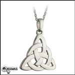 316L Stainless Steel Trinity Knot Pendant (#S28)