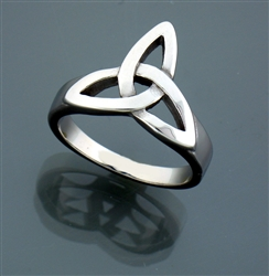 Bold and Large Trinity Knot Ring (#S32B)