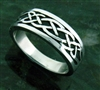 316L Stainless Celtic Knot Steel Ring (S50)