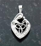 A  Celtic Mother's Love pendant (S83)
