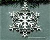 Pewter US Army Star SnowWonders® Ornament(SW6049)