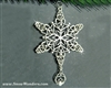 Trinity Claddagh Celtic Family SnowWonders® Snowflake Ornament