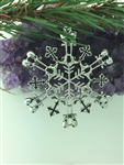 "Soldier's Battle Cross Cross Snowwondersâ""¢ Snowflake Ornament ( 6054) Military Ornament, Fallen soldier"
