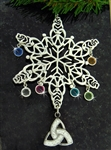 """Celebrating our Celtic Family"" Snowflake Ornament (SWceltfam)"