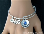 Photo_Hand Stamped Scottish Charm Bangle